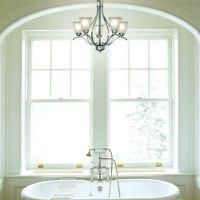 Recessed Light Conversion Bathroom After Photos