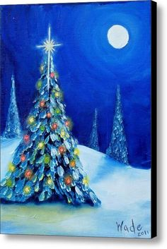 Oh Christmas Tree Canvas Print / Canvas Art By Craig Wade