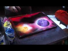 Spray Paint Art - New York City  This is really cool