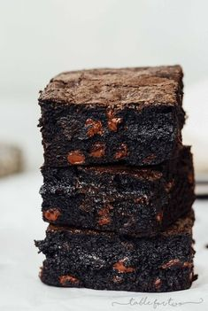 These exceptionally decadent and fudgy dirty chai dark chocolate brownies will elevate your brownie experience. You won't be able to resist just one!
