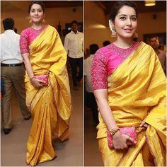 @raashikhannaoffl  Sari - @shravankummar  Jewelry - #tibarumals Clutch - @accessoriesbyanandita  Styled by - @nithishasriram @shivanshi_khanna  #bollywood #style #fashion #beauty #bollywoodstyle #bollywoodfashion #indianfashion #celebstyle