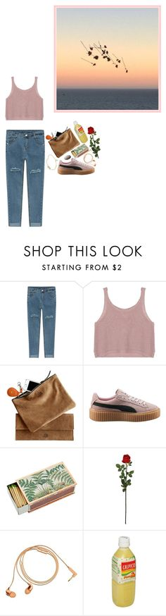 """""""242· lazy delicacy"""" by poolboy ❤ liked on Polyvore featuring Puma, Shandell's, Laura Cole, Happy Plugs, sOUP, Georg Jensen and clotheshavenogender"""