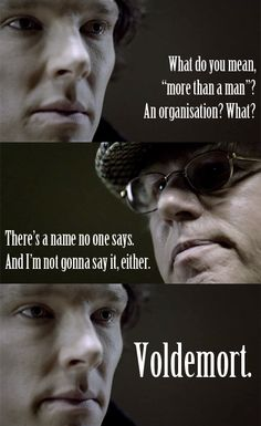 You-Know-Who - Sherlock and Harry Potter crossover
