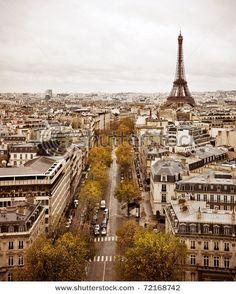 Cityscape paris style