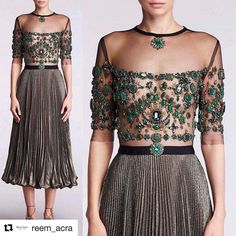 Cheap prom gown, Buy Quality fashion gowns directly from China elegant evening dresses Suppliers: New Fashion Elegant Evening Dresses Half Sleeve Tea length Party Prom Gowns Little Dresses, Dresses For Work, Pretty Dresses, Metallic Skirt, Half Sleeve Dresses, Couture Details, Couture Style, Bridal Lace, Latest Dress