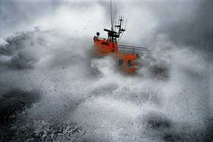 A tough test..this shows how brave the rnli are....