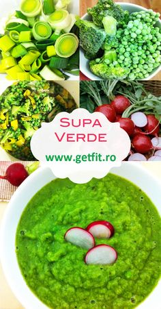 Supa verde, de post Palak Paneer, Guacamole, Ethnic Recipes, Places, Food, Green, Meal, Eten, Hoods