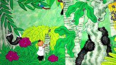 The Animal Boogie Barefoot Books Animated video Preschool Jungle, Preschool Songs, Kids Songs, Preschool Education, Music For Kids, Yoga For Kids, Toddler Music, Animal Boogie, Barefoot Books