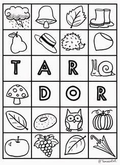 Aprenent a educar: ESTACIONS DE L'ANY PER PINTAR Lany, Calendar Time, Months In A Year, Playing Cards, Seasons, Character, Teacher, Autumn, Study