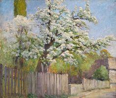 Jules Jaeger, Arbre en fleurs