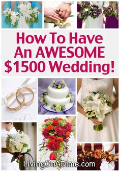 15 Tips To Save On Weddings