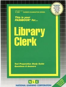 Library Clerk - one