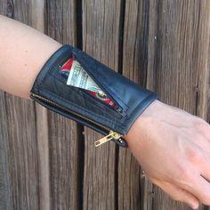 Piranha Cuff Wrist Wallet
