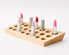 Makeup organizers ....would like dad to make a couple of these for me, need it :)