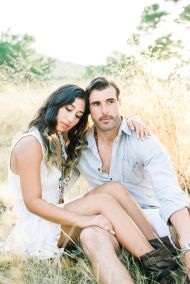 Romantic Spanish Sunset Engagement Session in Ibiza - Style Me Pretty