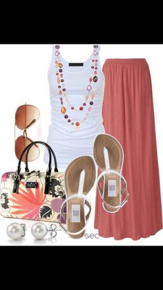 Modern day hippie outfit