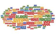 """La actividad Compañeros entrelazados consiste en elaborar un """"mosaico de nombres"""" en una una cartulina en la que aparecen el nombre de t..."""