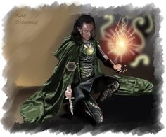 Loki-Master of the fire by LadyMintLeaf on DeviantArt