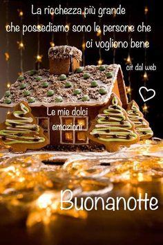 Italian Greetings, Good Night Wishes, Gingerbread, Cristiani, Anna, Dolce, Fairytale, Grande, Pandora