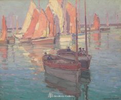 Edgar Payne-French Boats