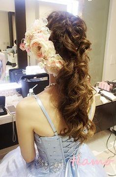 クラシカルアップやアルモニ花冠にあわせた色々アレンジ♡リハ編 の画像 大人可愛いブライダルヘアメイク『tiamo』の結婚カタログ