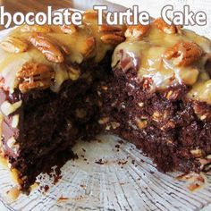 Chocolate Turtle Cake                                                                                                     All ingredients   ...