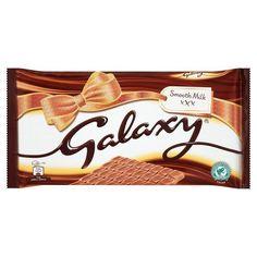 Galaxy Milk Chocolate Bar, 390g Galaxy Milk Chocolate (390g) (Barcode EAN = 0721864837433). http://www.comparestoreprices.co.uk/december-2016-3/galaxy-milk-chocolate-bar-390g.asp