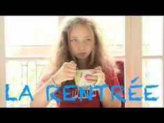 Le monde selon Victoria - La rentrée des classes--she speaks very quickly but with actions the Gr.8's will understand some info :)