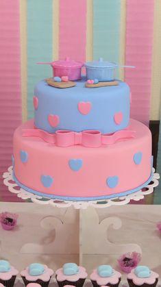 Bolo Fake, Fake Cake, Bridal Shower, Baby Shower, Open House, Wedding Decorations, Birthday Cake, Sweet, Party