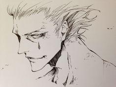 Hunter x Hunter ☆ Hisoka Morow (Hisoka Morou) Fan Art ko-dai Hisoka, Killua, Manga Anime, Anime Guys, Anime Art, Blue Exorcist, Fanart, Hunter Vs Hunter, Ange Demon