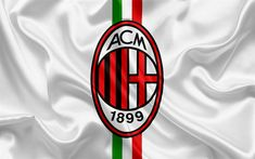 Download wallpapers Milan Italy, football, Serie A, Milan logo, Italy, football club