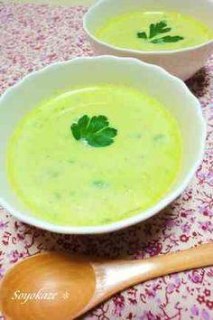 アボカドスープ☆豆乳仕立ての画像