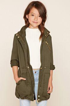 Girls Utility Jacket (Kids)