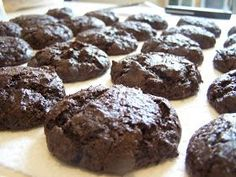 A Cooking Bookworm: Chocolate Cake Mix Cookies