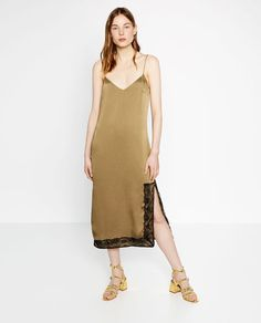 Image 1 of CAMISOLE DRESS from Zara