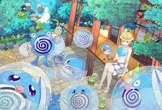 Name: Pokemon Summer Paint tool Sai Time: 5 day HD dev: http://guen1997.deviantart.com/art/Pokemon-Summer-539350744 HD pix: http://www.pixiv.net/member_illust.php?mode=medium&illust_id=50890246