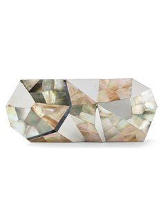 Shop RAFÉ NEW YORK 'Maryanne' Mirror Clutch from Farfetch