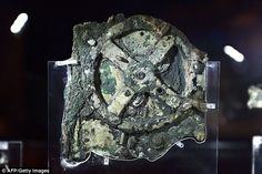 The Mechanism (pictured) was recovered from a Roman cargo shipwreck off the Greek island o...