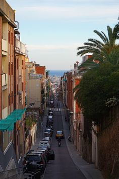 Thanks to its diversity, to its architectural landscape, to its sunny beaches and lively nightlife, Barcelona is one of the best destinations in Europe. Amazing Destinations, Travel Destinations, Antoni Gaudi, Sunny Beach, World's Fair, Beautiful Buildings, Night Life, Playground, Spain
