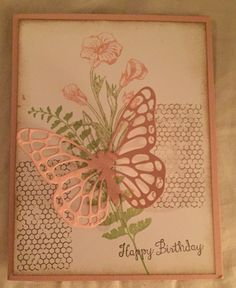 Butterfly Birthday Card - Deb Furnans - Stampin' Up