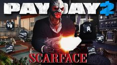 PAYDAY 2 SCARFACE ,BIKER AND MORE NEW HEISTS