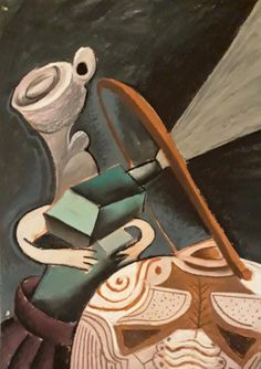 Still life - a little bit of cubism - Tempera and Pastel - for sale Tempera, Cubism, Still Life, Pastel, Drawings, Artist, Photography, Painting, Cake