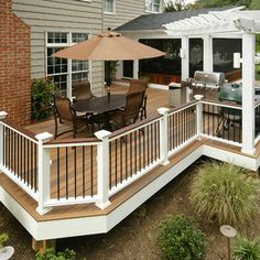 Deck Railing Design Ideas, Pictures, Remodel, and Decor - page 17