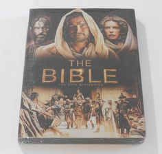 The Bible The EPIC Miniseries DVD -4 Disc Set **NEW** Sealed