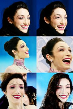 What I love about Meryl Davis is her grace and expression. She just seems to light up a room and she's always so gracious.