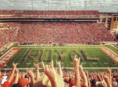 The University of Texas..can't wait for football to start! Hook em!!