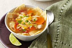 Slow-Cooker Chicken Tortilla Soup - Holiday Cottage