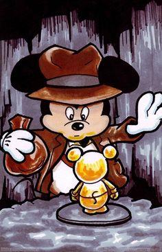 Indiana Mickey Jones!