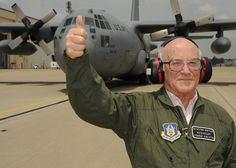 Steve, 86, guides in a plane at Pope Army Air Field at Fort Bragg, NC. #WishConnect