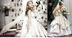 carrie bradshaw wedding dress - Поиск в Google